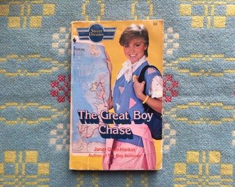 The Great Boy Chase by Janet Quin-Harkin Sweet Dreams No 93 - 1980s Teen Romance