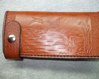 Duck long wallet. waterfowl wallet. ships same day as ordered.
