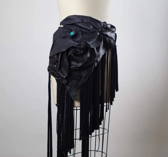 Festival Clothing - Burning Man Clothing - Gypsy Wrap Skirt - Burning Man - Fringe - Festival Wear