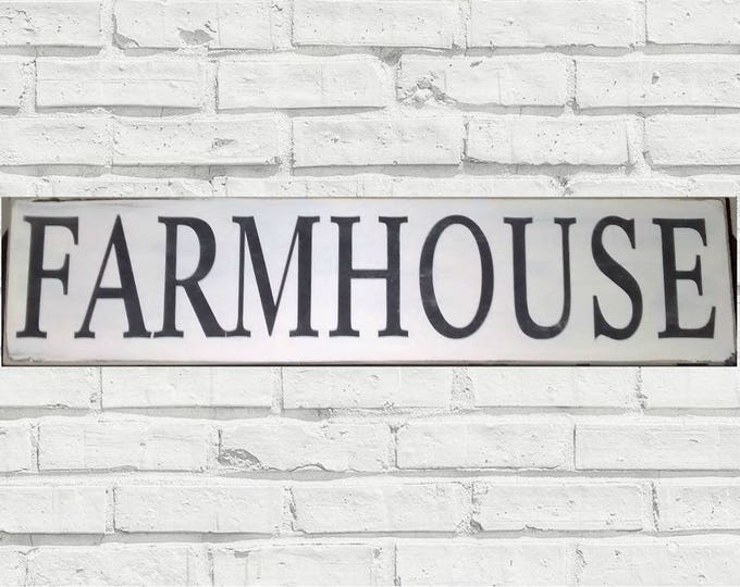 FARMHOUSE SIGN, kitchen sign, Distressed farmhouse sign, Farmhouse style, Farmers Market sign, Farm sign, Country Kitchen Decor, Rustic sign