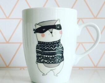 masked bear Coffee / Tea  Mug