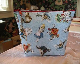 Alice in Wonderland clutch