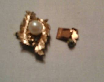 Vintage Jewelry Snap on Closure Clasp -- Jewelry making supply