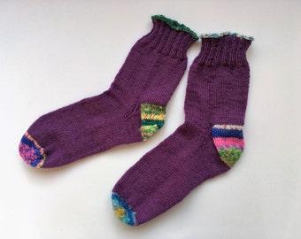 Knitted socks,wool socks,women's knitted socks,Gift for her