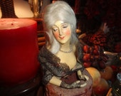 HOLD FOR SU Antique French bust...measures 6 by 4 inches