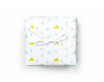 little mountains gift wrap