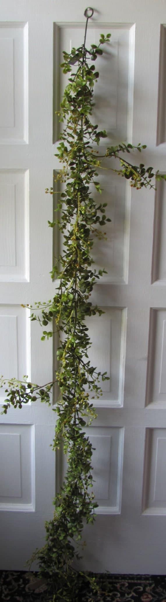 eucalyptus garland artificial floral greens wedding. Black Bedroom Furniture Sets. Home Design Ideas