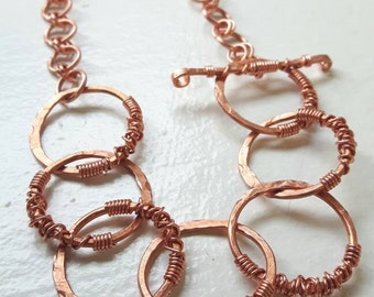 Chunky Copper Chain Necklace