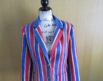 Sale!  Inner Visions by Ship'nShore Mod Jacket 1970's