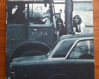 SPRING SALE Vigrass & Osborne • Queues Vinyl LP 1972 Uni Records Rock