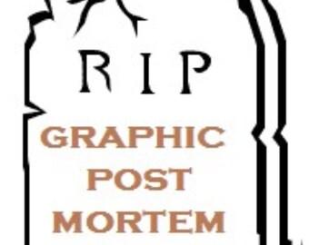 Post Mortem Unusual Pair Vintage Photos
