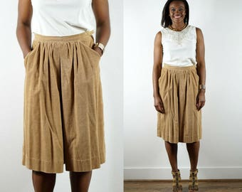 1970s Brown Culottes