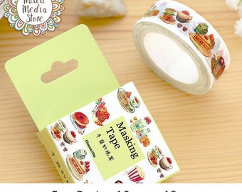Tea Party Washi Tape - So pretty for your planner & art journal pages!