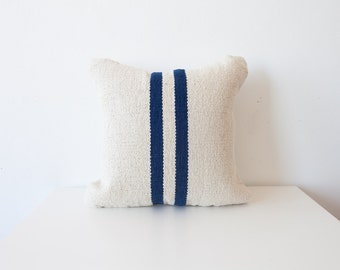 16x16 Jute Stripe Pillow