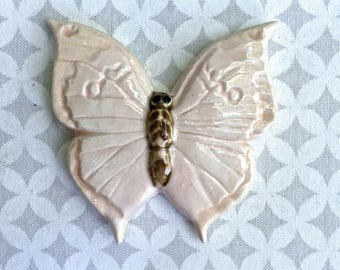 DOLLAR STORE Pink Butterfly - Ceramic Tile