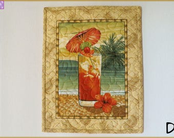 Quilted Wall Hanging - Mug Rug Paradise 592 <> 4 styles available