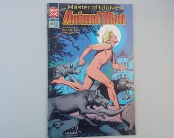 Animal Man 39, 1991, Vintage DC comics, Vertigo, Dc superheroes, 90s comics, JLA, geekery