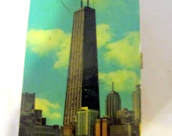 Souvenier Chicago Cedar Box