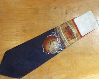 Basketball Hoops necktie by Rennaisance