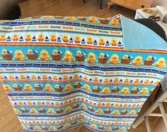 Rubber duckie baby Quilt