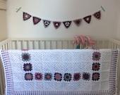 Crochet Baby Blanket // Handmade // Nursery