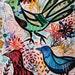 Birds Painting Birds Art Birds Home Decor Birds Wall Art Birds Fine Art - Animal Art Nature Flowers Birds - Céline Marcoz Art - Birds Déco