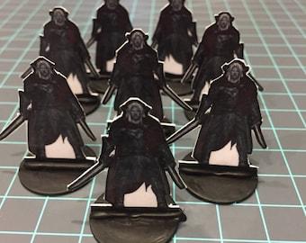 8 Drow Warrior Minis