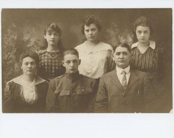 Decorated Son, 1917: Vintage Portrait Photo (72547 O/S)