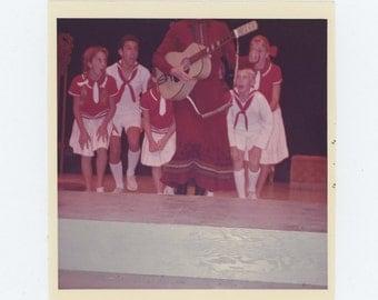 Vintage Snapshot Photo: Stage Performance, 1964 (73553)