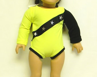 Gymnastic Outfit  For 18 Inch Doll Like The American Girl