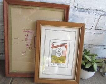 Wood Frames Vintage Wooden Picture Frames