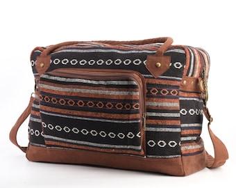 Southwestern Holiday Bag, Travel Bag, Suitcase, Overnight Bag, Getaway bag, Vacation Bag
