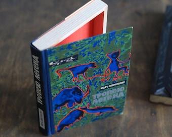 "Hollow Book Treasure Box Sherlock ""Animals"", Recycled Book Box"
