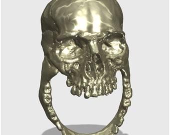 Dead Presidents - Abraham Lincoln Edition Skull Ring