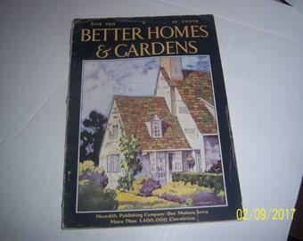June 1931 Better Homes & Garden Magazine House Wiswall Paper Ephemera