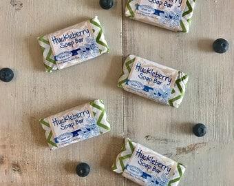Huckleberry Guest Soaps- Natural Vegan Gourmet Soap
