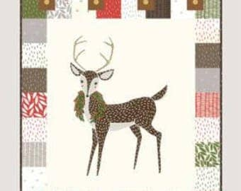 """Jolly Wall Quilt Pattern by Jesse Maloney for Gingiber 22' x 28.5"""""""