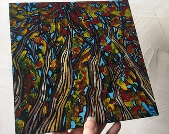 Fall Forest original painting