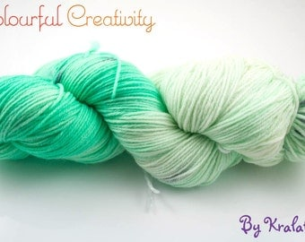 Colourful Soft Sock - Mint Chip