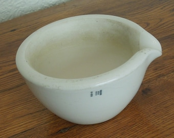 Vintage Coors Porcelain Apothecary Mortar