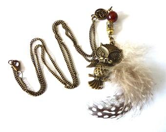 Owl Necklace Owl Jewelry Trend Jewelry modern