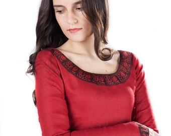 """Cosplay Dress """"Autumn Princess""""; Larp Tunic;"""