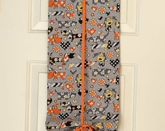 Classroom Door Safety Curtain--Dogs with Polka Dots SALE!