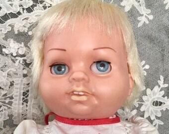 Blonde Mattel Chatty Baby Doll