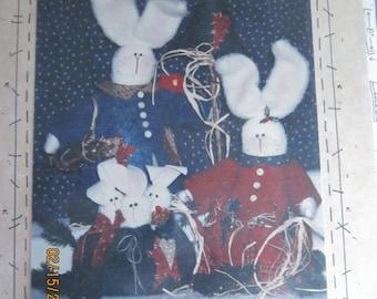Seasonal Snow Bunnies Patterns