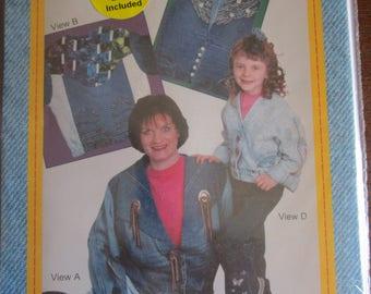 Upside Down Jacket Pattern