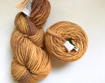 45% Off 2 Red Barn Wool Mohair Hand Dyed Yarn Bulky Acorn 250 Yards