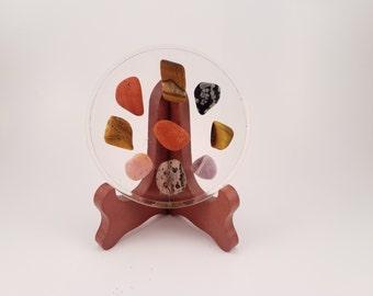Precious Stones Handmade Resin Coaster FI0282