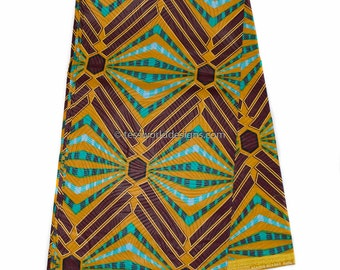 Wholesale African Fabric/ African print Fabric/ African print/ Ankara fabric/ African wax Print/  Cotton Print/ 6 yards WP982