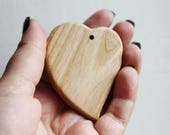 Petal-pendant made from oak, natural oak teether, eco-friendly - Natural Wooden Toy - Teether - Handmade wooden teether